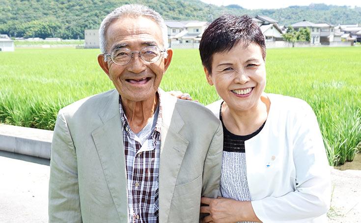 木元聖花さんと木村秋則さん